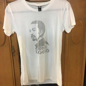 John Legend T-shirt Size Large